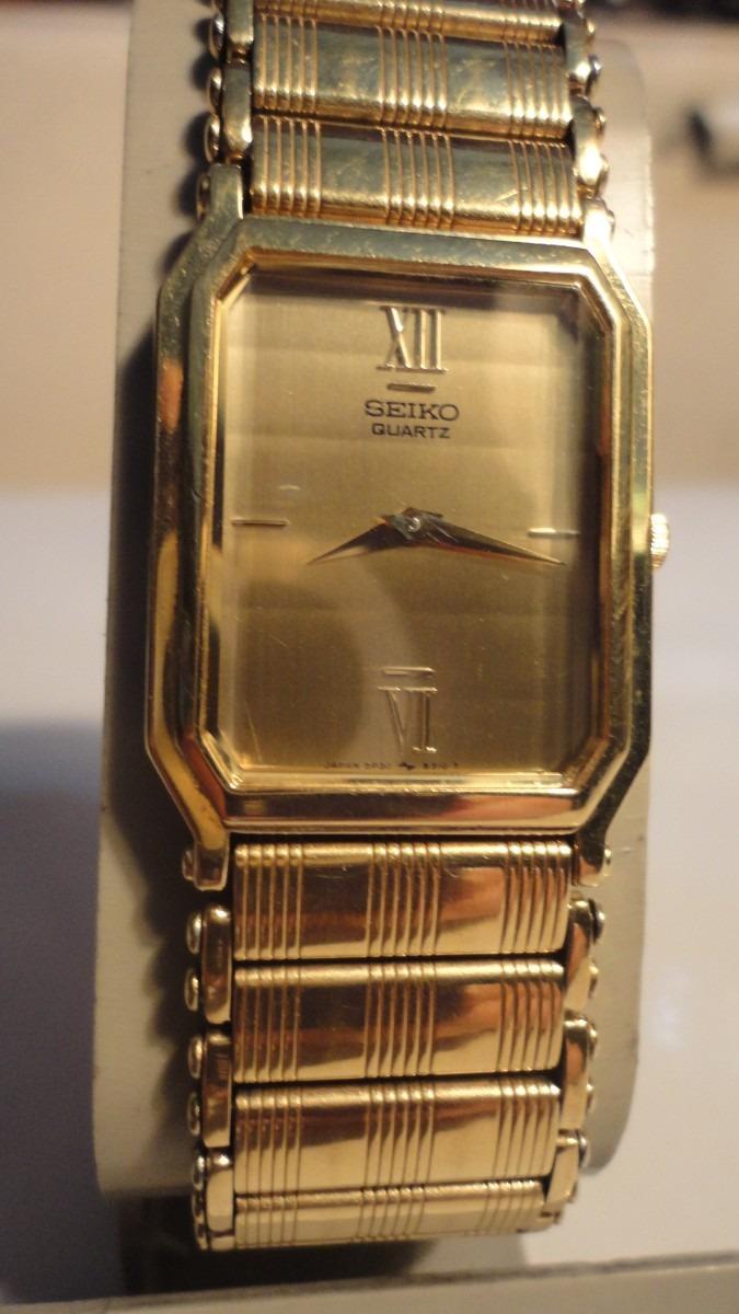 d8ce81cce002 reloj unisex japones seiko quartz. dorado. Cargando zoom.