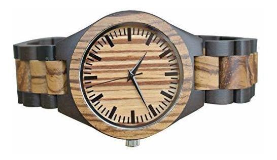 tiendas populares modelos de gran variedad seleccione para el más nuevo Relojes De Madera Personalizados Grabados Para Hombre Regalo