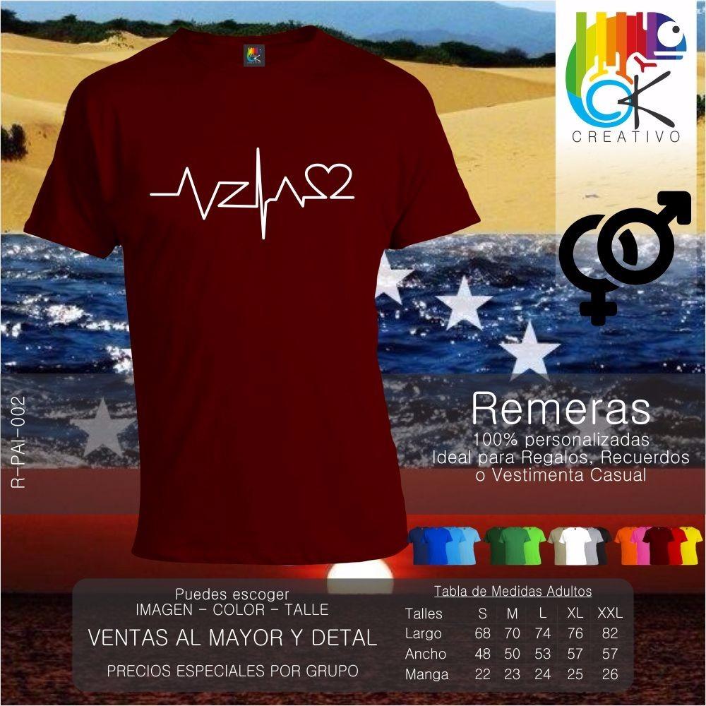 remera banderas personalizada diseño venezuela ok creativo. Cargando zoom. 7ca5ab6bbdb9f