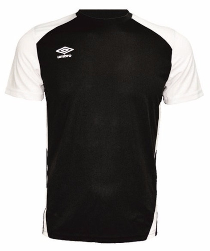 remera blanca y negra coolmax umbro adulto