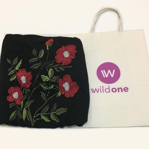 remera bordada - diseños exclusivos - wildone indumentaria