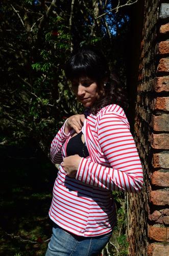 remera lactancia premamá embarazo amma lactancia