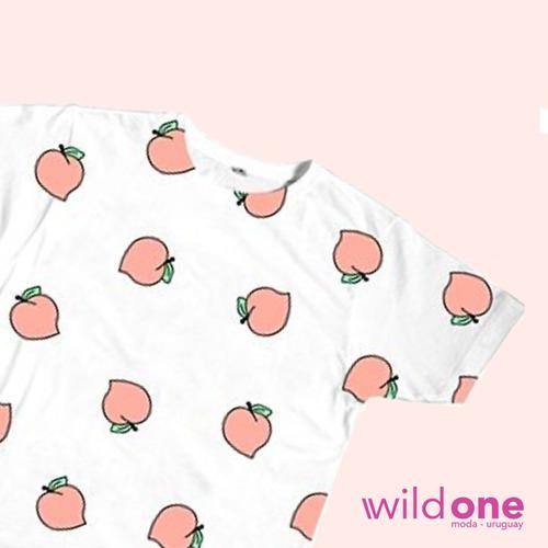 remera  peach  - wildone indumentaria