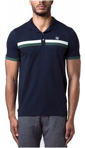 remera polo fila blade camiseta para hombre algodón