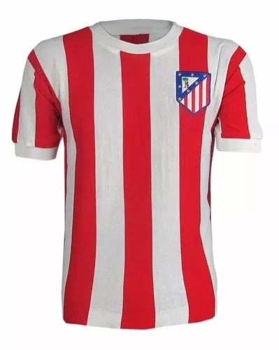 7495b71fd7e67 Remera Retro Atletico De Madrid Nueva. -   2.000