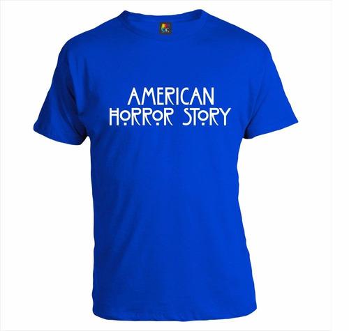 remera serie personalizada diseño - american horror story