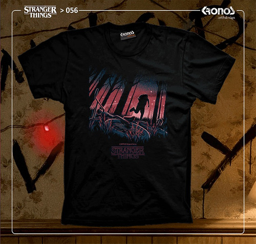remera stranger things + 70 modelos tv series netflix eleven
