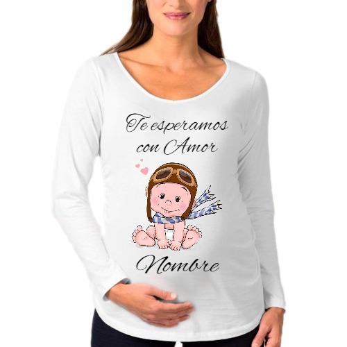 5dcba3eb2 Remeras Embarazadas Dia De La Madre Futura Mama -   490