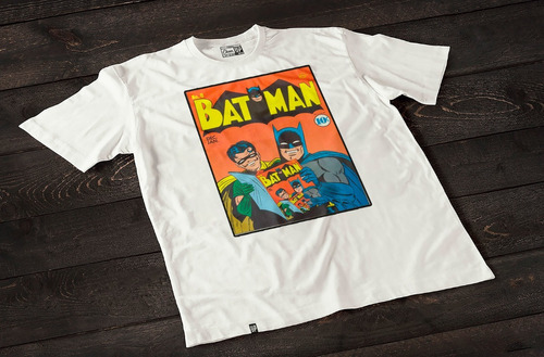 remeras estampadas batman y robin cheer up