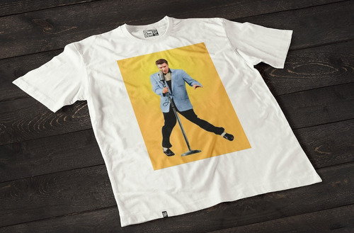 remeras  estampadas elvis presley cheer up