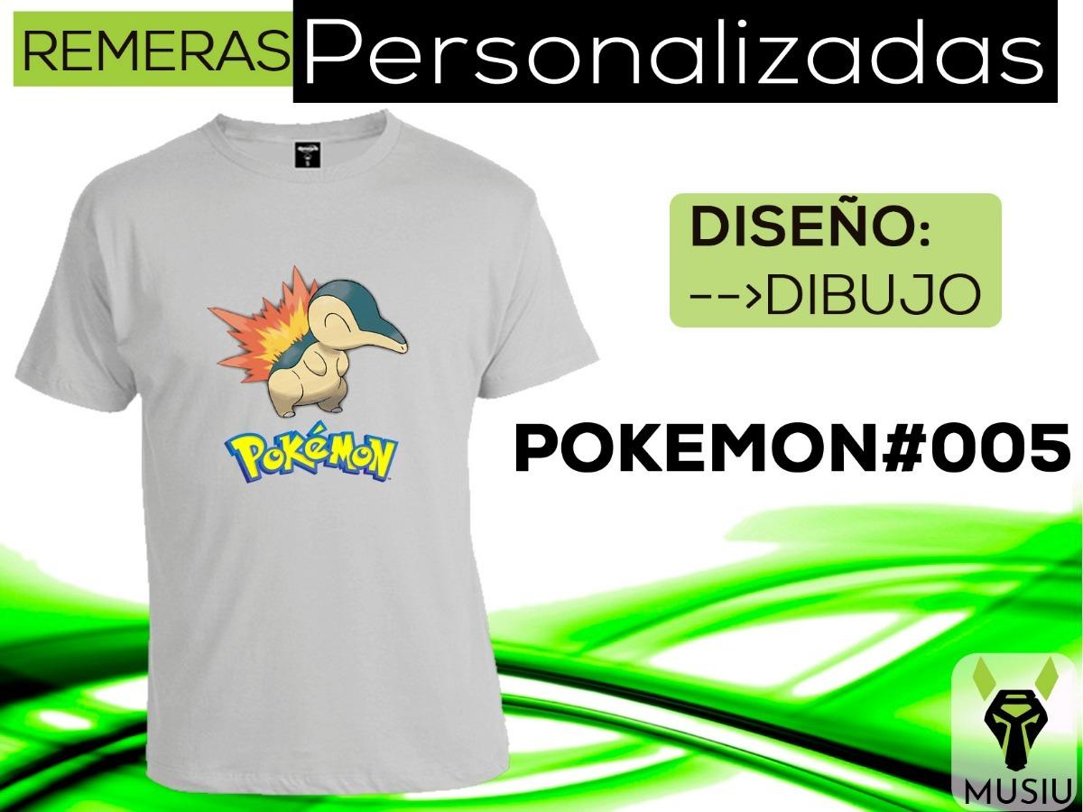 1d4529dcd9919 Remeras Personalizadas - Pokemon -  005 - Musiu -   163