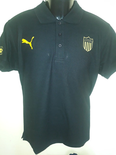 remeras polo peñarol! diseño exclusivo con parche cds!!