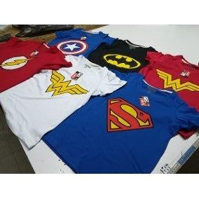 remeras superheroes, comics