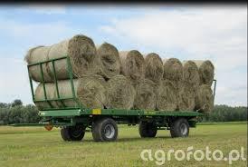 remolque agricola zorra de fardos pronar t 022.