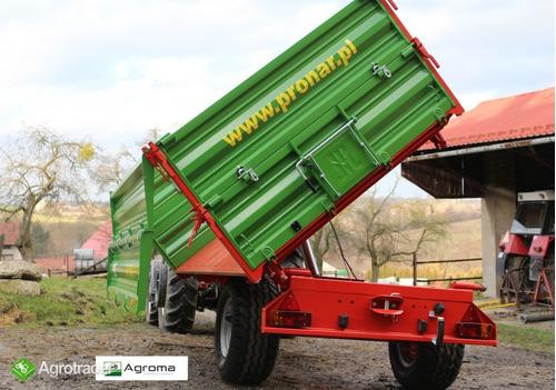 remolque agricola, zorra pronar t654/2