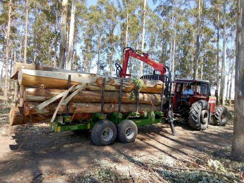 remolque forestal pronar t644/1.