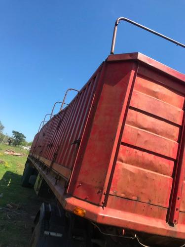 remolque granelero permuto por camioneta