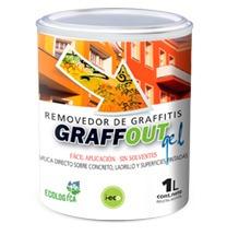 removedor de graffitis al agua graffout x 1 lt zona norte