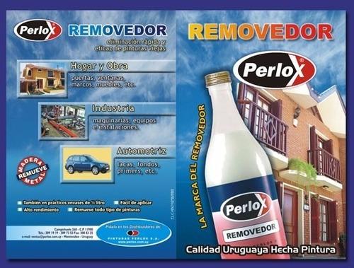 removedor de pinturas 1 litro perlox