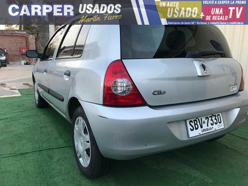 renault clio 1.2 authentique pack 2011 muy buen estado