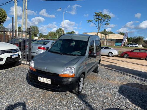 renault kangoo 1.9 rld 2001 diesel! 4000 y cuotas! pto/fcio