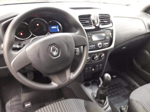 renault logan autenthique 1.6  full 2017 intermotors