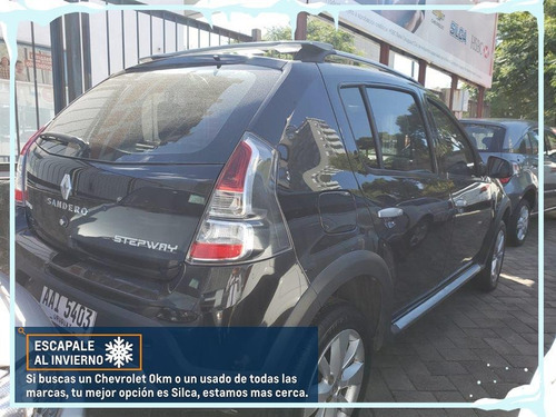 renault sandero stepway privilege 2013 negro 5 puertas