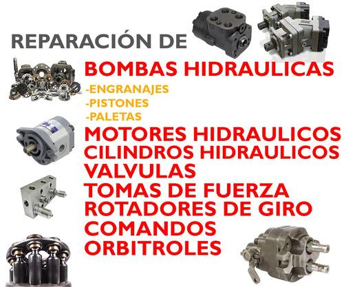 reparación bombas hidraulicas y mas
