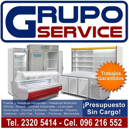 reparación de: cocinas, lavarropas, heladeras, service/v.i.p