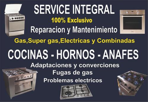 reparacion de estufas y cocinas. familiar e industrial