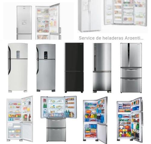 reparacion de heladeras ,aire acondicionado y frio en gral.