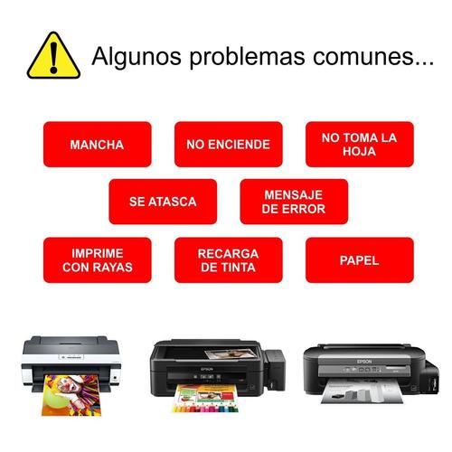 reparacion de impresoras epson cambio de cabezal tinta
