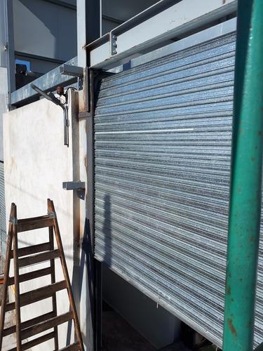 reparación fabricación de cortina persiana enrollar metálica