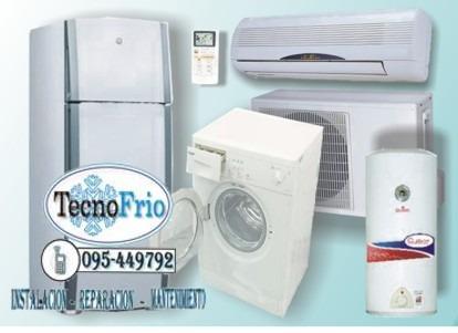 reparacion instalacion heladera aire lavarropa gas electrica