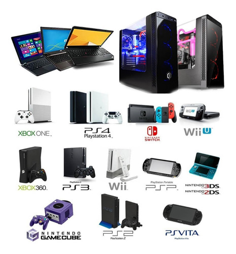 reparación pc, ps4, ps3, xbox 360 xbox one, switch celulares