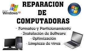 reparacion pc y notebook en domicilio, presupuesto sin costo