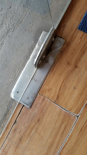 reparación puerta  blindex,cambio de frenos. ajustes