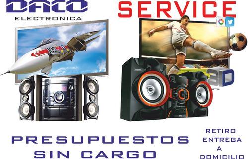 reparacion tv led lcd service tv smart equipos de audio
