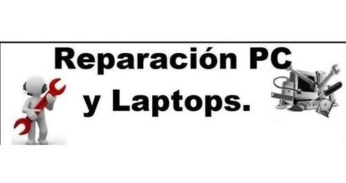 reparación y mantenimiento de pc y notebook