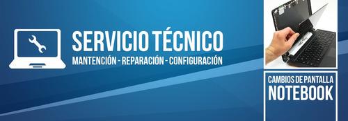 reparación y mantenimientos de notebooks  y pcs
