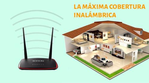 repetidor extensor wifi alta potencia tenda ap4 300mbps poe