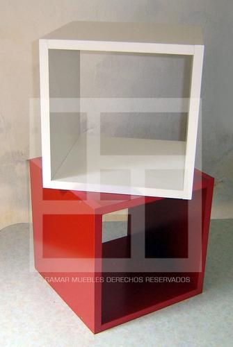 repisas estantes cubos modernas minimalistas varios modelos!