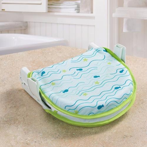 reposera baño bebe soporte plegable summer mvd kids