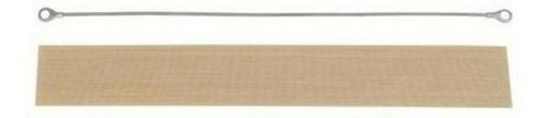 repuesto de selladora de bolsa resistencia y teflon 30 cms