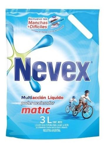 repuesto jabon liquido nevex matic multiaccion 3 lt