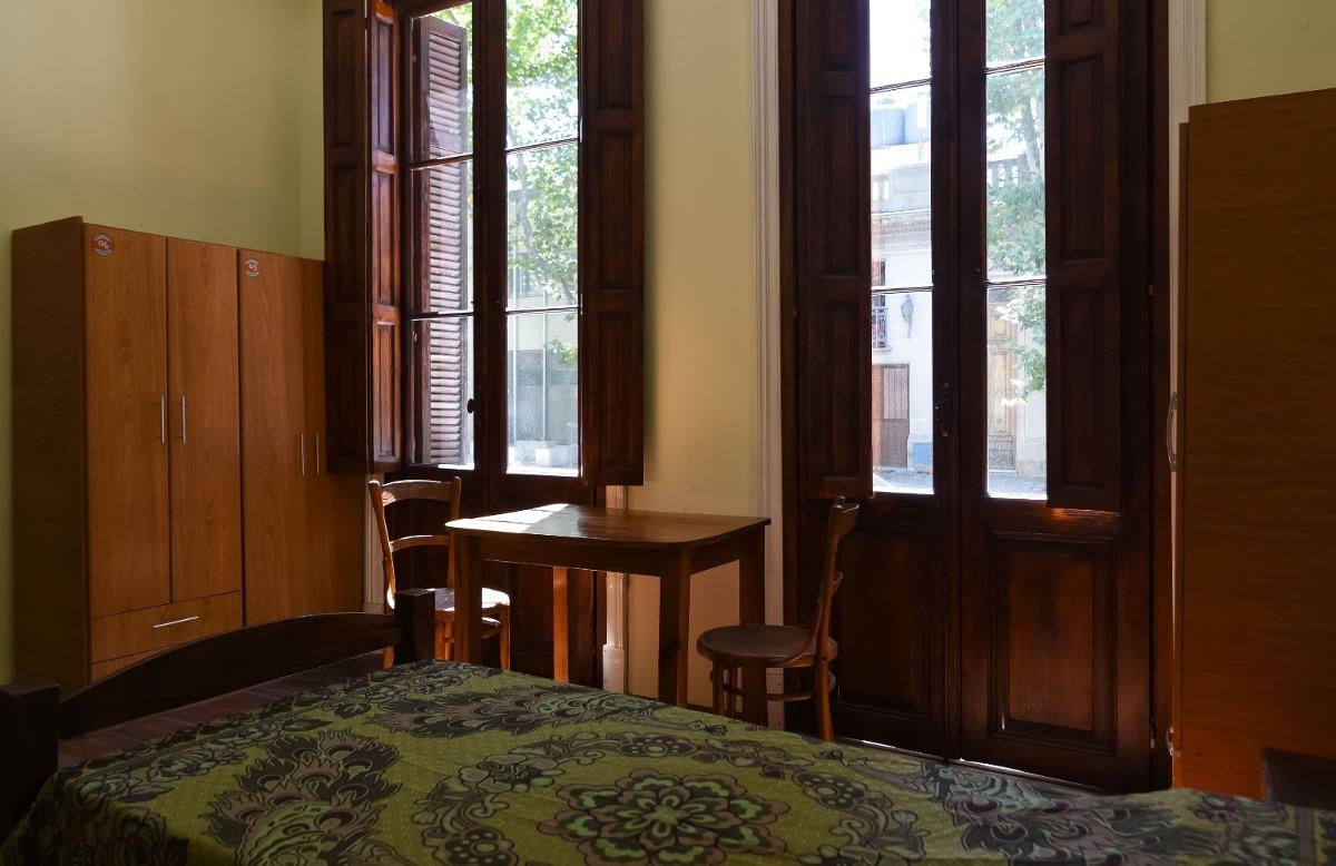 residencia universitaria vintage, hogar estudiantil