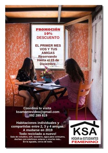 #residencia#hogar estudiantil #femenino # montevideo