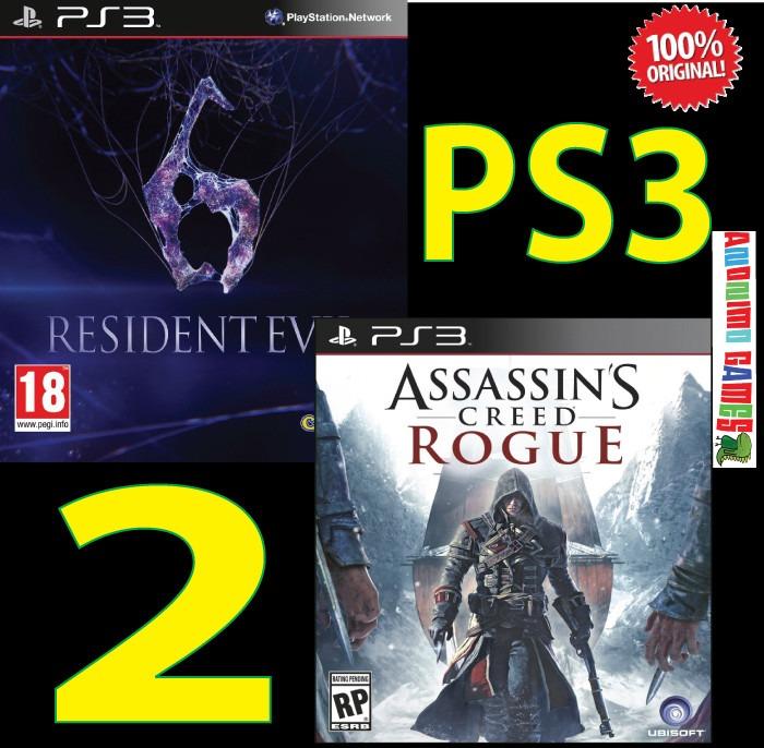 Resindet Evil 6 Assasins Creed Rogue Goat Simulator Ps3 449