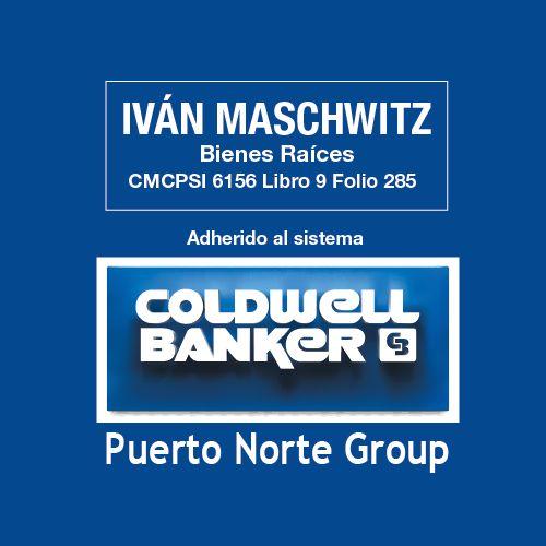 Logo de  Iván Maschwitz Cmcpsi 6156 - Coldwell Banker Puerto Norte Group
