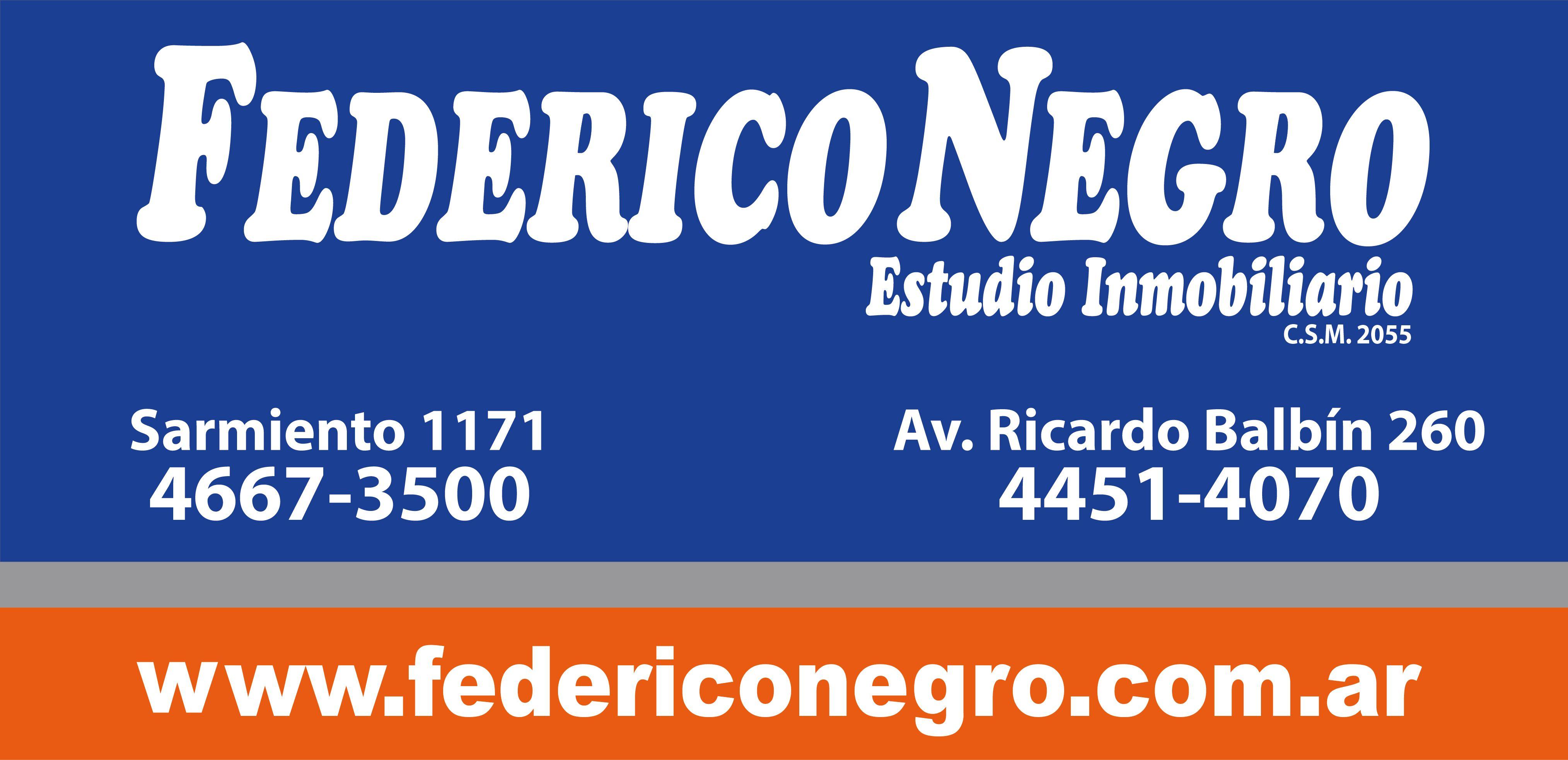 Logo de  Federico Negro Estudio Inmobiliario